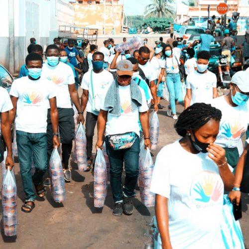COVID 19: VOLTIC, SAMEX et Togo Pneu, appuient la Chaîne Itinérante de Solidarité.