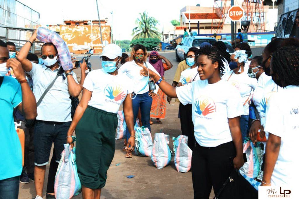 Togo : Voltic offre de l'eau à la coordination anti-covid